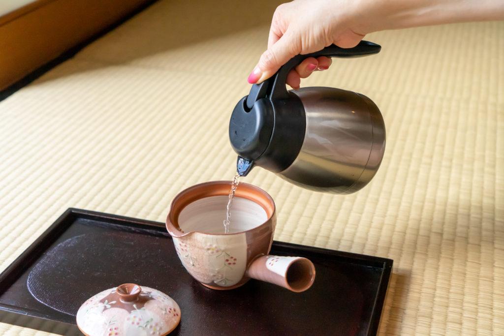 玄米茶の入れ方
