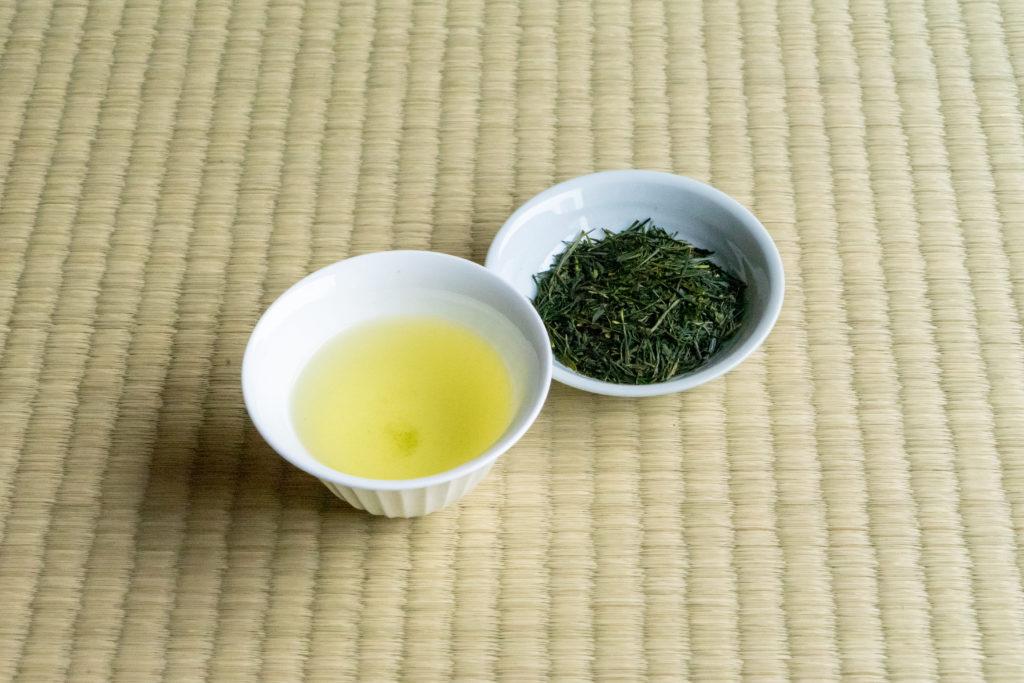 土佐茶のひすいと茶葉