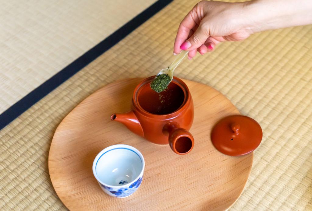 粉茶の入れ方