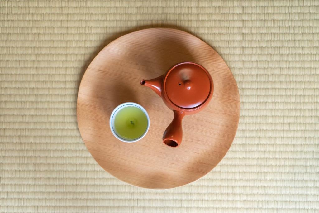粉茶と急須